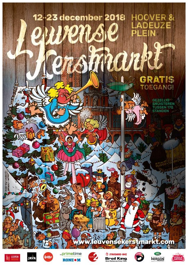 Afbeeldingsresultaat voor leuvense kerstmarkt